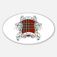 MacFarlane Tartan Shield Decal