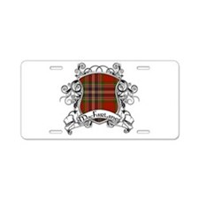 MacFarlane Tartan Shield Aluminum License Plate