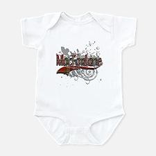 MacFarlane Tartan Grunge Infant Bodysuit