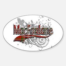 MacFarlane Tartan Grunge Decal
