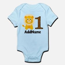 Jungle Safari Personalized Baby Na Infant Bodysuit