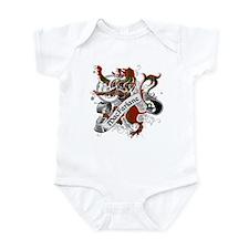 MacFarlane Tartan Lion Infant Bodysuit