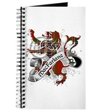 MacFarlane Tartan Lion Journal