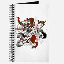 MacFarlane Tartan Lion Journal