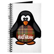 MacFarlane Tartan Penguin Journal
