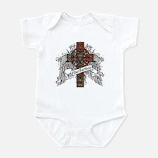 MacFarlane Tartan Cross Infant Bodysuit