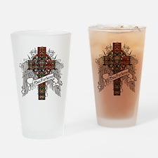 MacFarlane Tartan Cross Drinking Glass