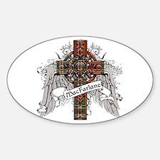 MacFarlane Tartan Cross Decal