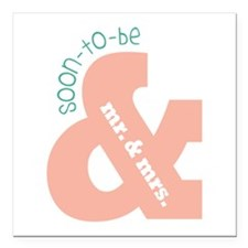 """Soon To Be Square Car Magnet 3"""" x 3"""""""