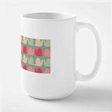 Retro Fun Snail Pattern Mug