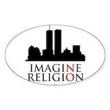 Imagine No Religion Decal