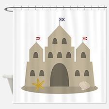 Sand Castle Shower Curtain