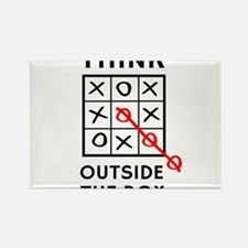 Think Outside The Box Magnets