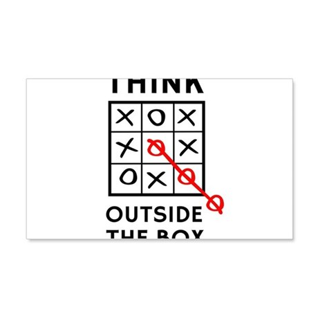 Think Outside The Box Wall Decal  sc 1 st  CafePress & Tic Tac Toe Wall Art | CafePress Aboutintivar.Com