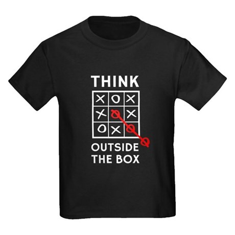 CafePress Think Outside The Box T-Shirt