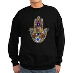 Hamsa Opal Design Sweatshirt