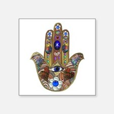 Hamsa Opal Design Sticker