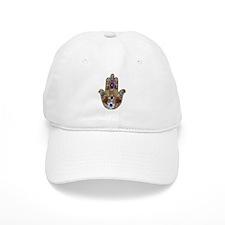 Hamsa Opal Design Baseball Baseball Cap