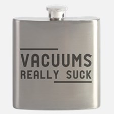 Vacuums Really Suck Flask