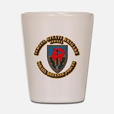 Israel Givati Brigade Shot Glass