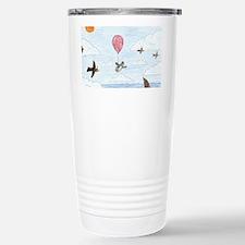 Unique Penguin comics Travel Mug