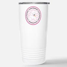 I Love Poodles cute Travel Mug