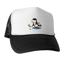 Ice Hockey Penguin Trucker Hat