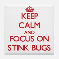 Cute Stink bug Tile Coaster