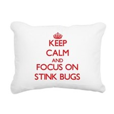 Cute Stink bug Rectangular Canvas Pillow