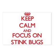 Cute Stink bug Postcards (Package of 8)