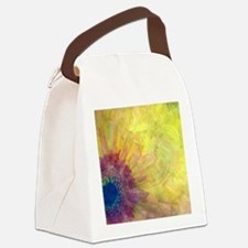 Gerbera Canvas Lunch Bag