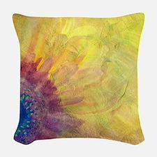 Gerbera Woven Throw Pillow