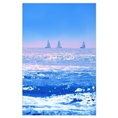 A Good Day For Sailing Poster