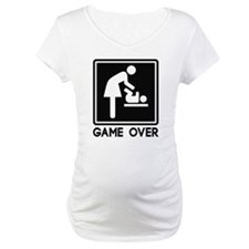 Game Over New Baby for Parent Mom Shirt