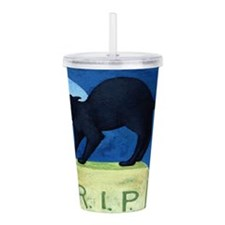 Cute Trick Acrylic Double-wall Tumbler