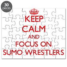 Cute Sumo wrestler Puzzle