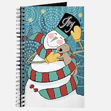 snowman joy puppy Journal