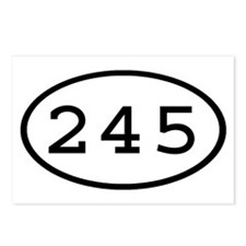 245 Oval Postcards (Package of 8)
