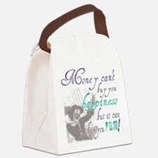 Cute Talk like a pirate Canvas Lunch Bag