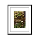 Protect Nature Framed Panel Print