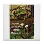 Protect Nature Tile Coaster