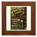 Protect Nature Framed Tile