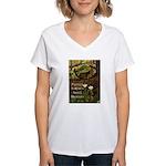 Protect Nature Women's V-Neck T-Shirt