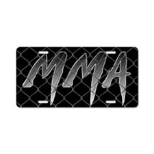 MMA Aluminum License Plate