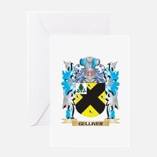 Gulliver Coat of Arms - Family Crest Greeting Card