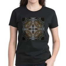 metallic tooled leather western T-Shirt