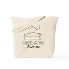 Sofa King Awesome Tote Bag
