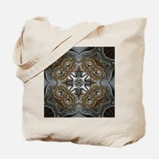 Tooled leather Tote Bag