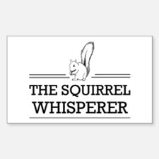 The Squirrel Whisperer Decal