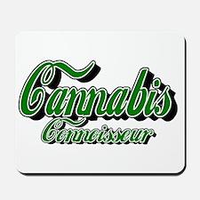 Cannabis Connoisseur Mousepad
